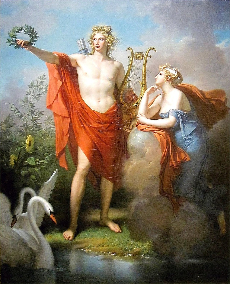 Apollo,_God_of_Light,_Eloquence,_Poetry_and_the_Fine_Arts_with_Urania,_Muse_of_Astronomy_-_Charles_M