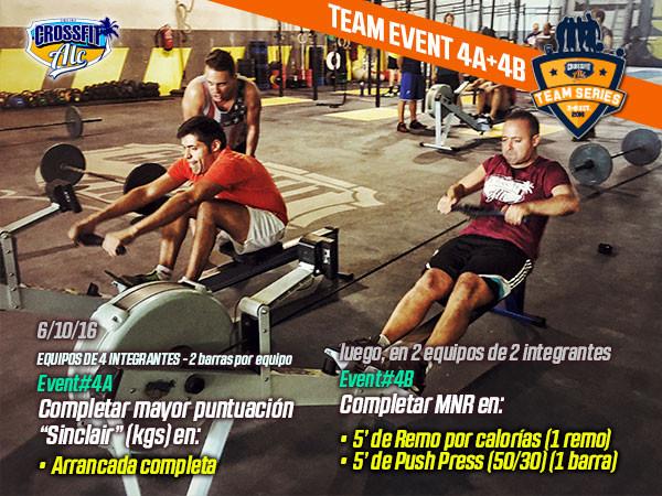 Team Event 4