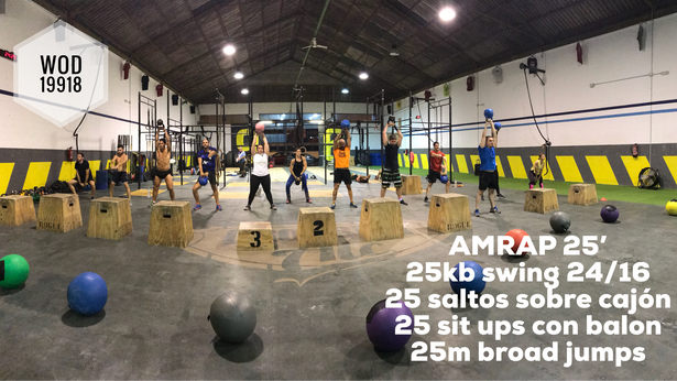 AMRAP 25'