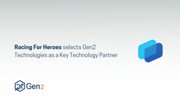 Racing For Heroes selects Gen2 Technologies as a Key Technology Partner