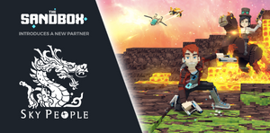 Partnership Announcement: The Sandbox Ft. Skypeople