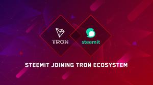 Blockchain blogging platform Steemit to partner with Tron