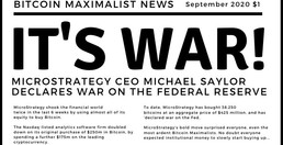 MicroStrategy Declares War On The Fed