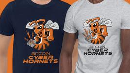 Bitcoin Cyber Hornets T-Shirt