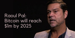 Macro Strategist Raoul Pal: $1m Bitcoin In Five Years