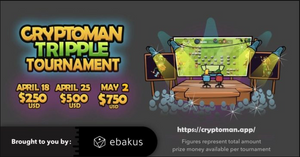 Cryptoman is launching its biggest tournament so far with a 1500$ prize pool