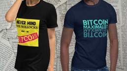 Get Your Bitcoin T-Shirts In The Bitcoin Maximalist Store