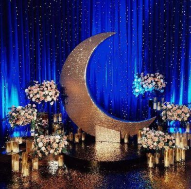 Starry Night Prom Decor