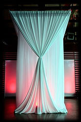 event drapes in South Florida
