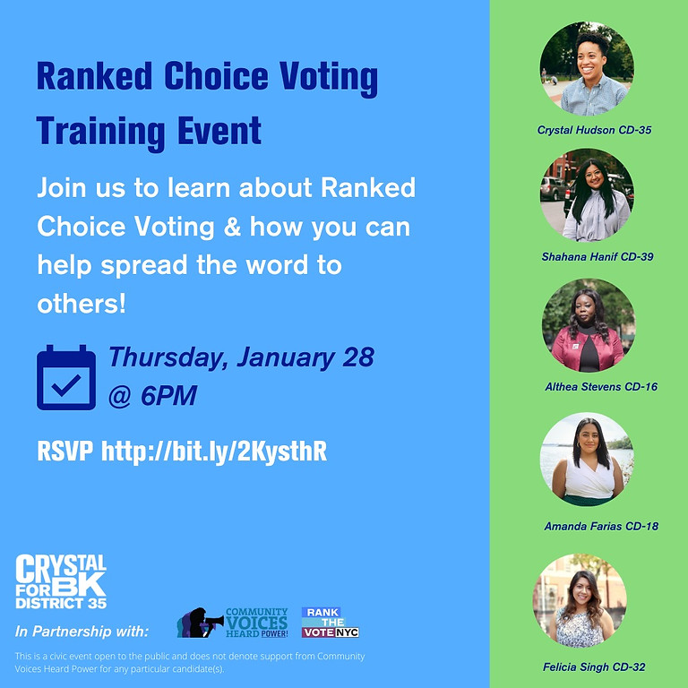 Ranked Choice Voting Training