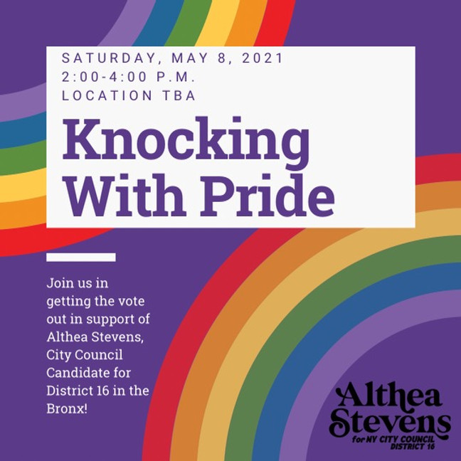 Knocking with Pride