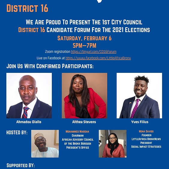 District 16 Candidate Forum