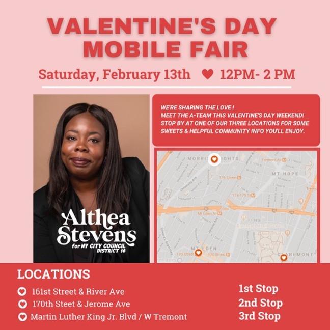 Valentine's Day Mobile Fair
