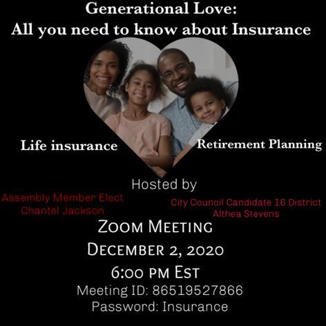 GENERATIONAL LOVE ZOOM MEETING