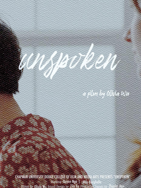 Unspoken / September 24th, 2020 Start Time 11:45 AM