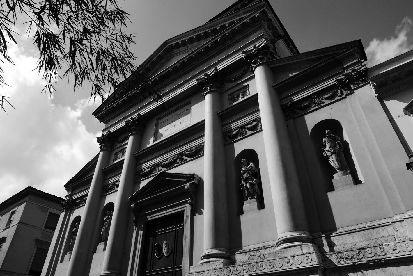 抬頭看 都是Palladio作品的小鎮-Vicenza