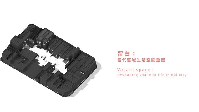 留白:當代舊城生活空間重塑 Vacant space : Reshaping space of life in old city