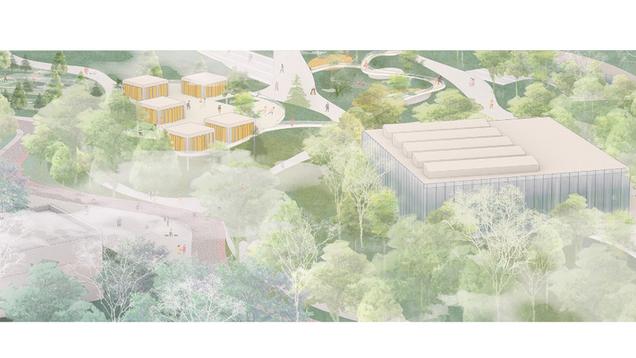 城·岛——石家庄鹿泉区全民健身运动公园设计