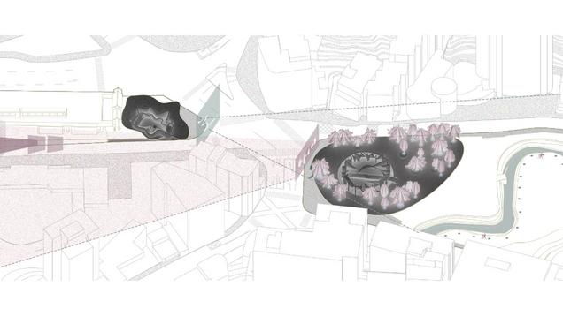 時間的形狀-車站公園地景計畫   Shape of Time - S-P landscaping pavilion