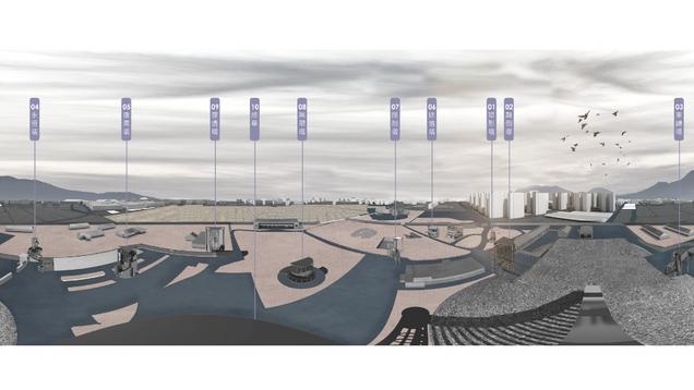 鳳山文化城10x10: 展示現代社會圖像  Fengshan Cultural City 10x10: Display images of modern society