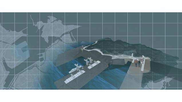 日常與非日常的岸:新形態貨港 Shared coast: New type of cargo port