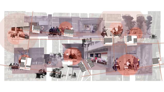 都市聚場-都市與住家間的觀演場域 Healing Street Gathering-The dialogue field in the process of the city entering the room