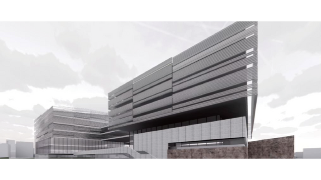 游·园 渭南信息谷创新中心方案设计 Design of Weinan information Valley Innovation Center