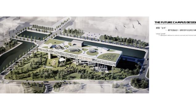 "未来校园设计:校园""生长"" ——基于社团自定义-信息反馈式的空间生长模式 The future campus design : Campus ""growth"" ——Space growth model based on community customization and information feedback"