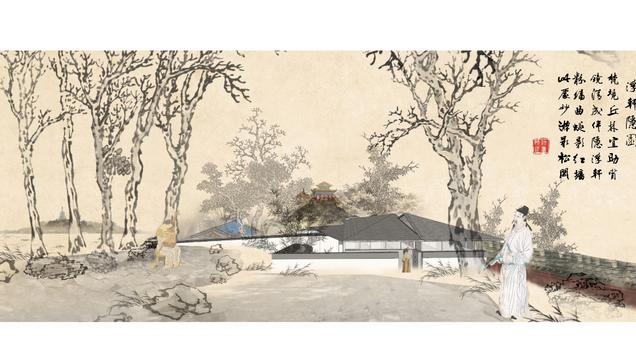 浮轩隐园 The Hidden Garden with a Floating Roof