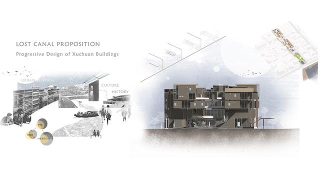 Lost Canal Proposition, Progressive Design of Xuchuan Buildings : 旭川大樓階段性改善計畫