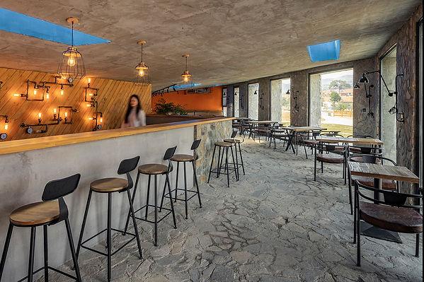 16-建筑室内作为咖啡使用 Interior space of building