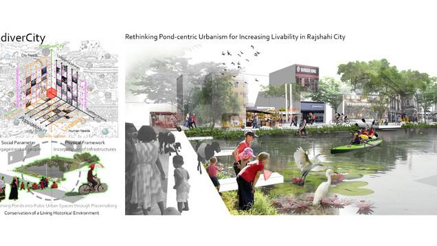 BiodiverCity: Rethinking Pond centric Urbanism for Increasing Livability in Rajshahi City
