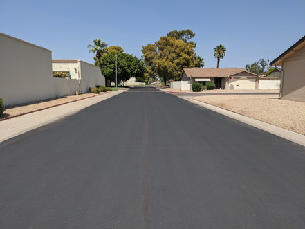 Asphalt Crackseal & Sealcoat