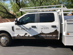 Pinnacle Paving Truck