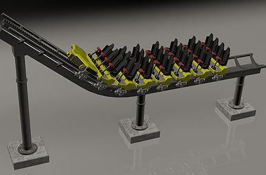 roller coaster model