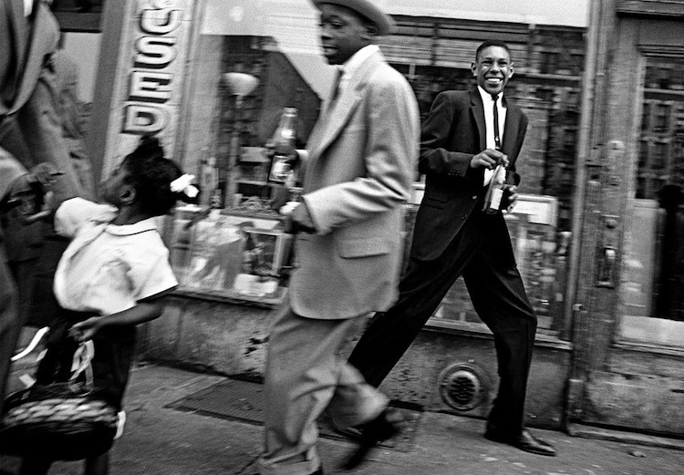Pepsi and moves, Harlem, New York, 1955