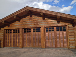 copper clad garage doors