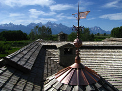 cutom copper roof