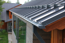 custom sheet metal gutter