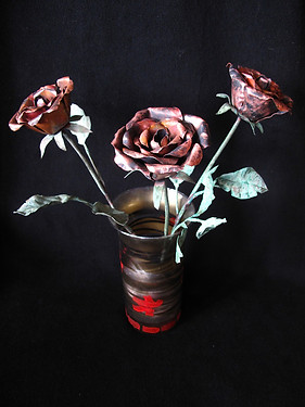 Copper Roses Are Forever