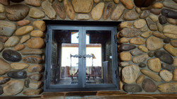 steel fire place door