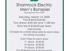 Enter your team for the Shamrock Electric Bonspiel