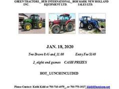 Farm Equipment Competitive Men's Spiel