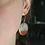 Thumbnail: Striped Circle Earrings