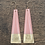 Thumbnail: Long Pink Earrings