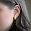Thumbnail: Mustard Yellow, Pink, and Gold Marquise Stud Earrings
