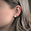 Thumbnail: Set of 3 Pastel Stud Earrings with Gold Accents