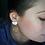 Thumbnail: Confetti Gold Hoop Earrings
