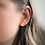 Thumbnail: Yellow and Silver Stud Earrings