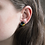 Thumbnail: Geometric Teal, Yellow, and Black Stud Earrings